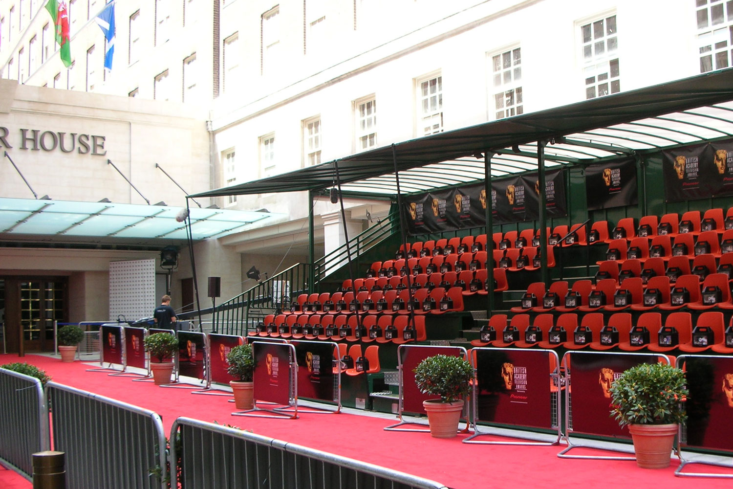 Grandstand Hire - BAFTA Awards