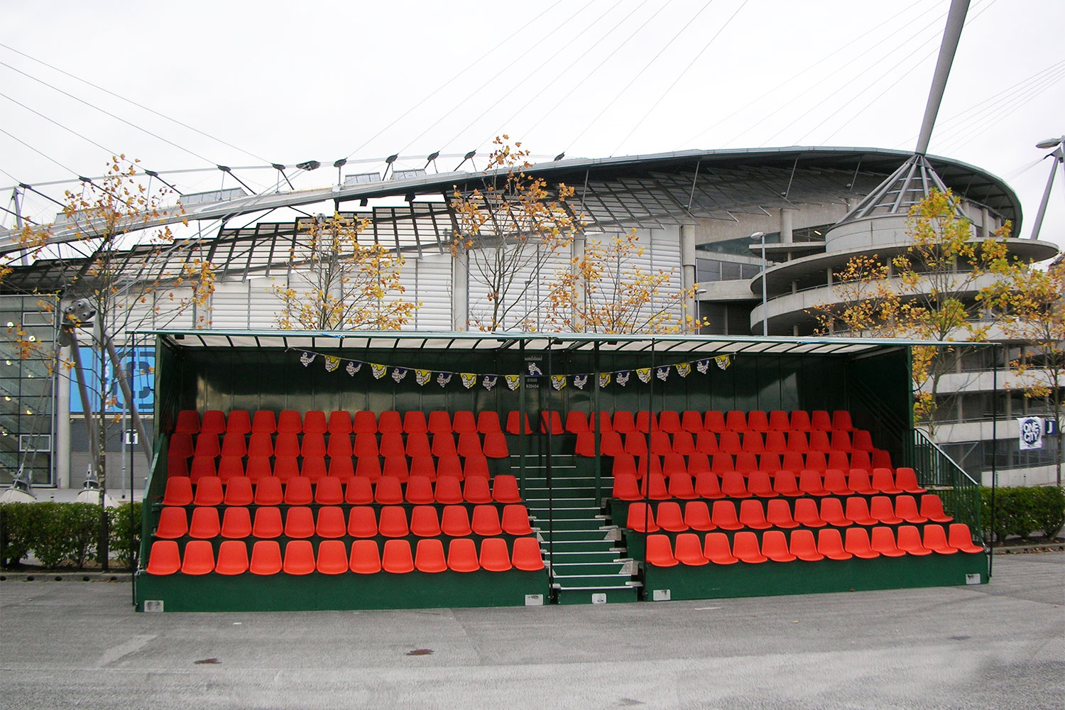 Grandstand Hire - 150 seats per block