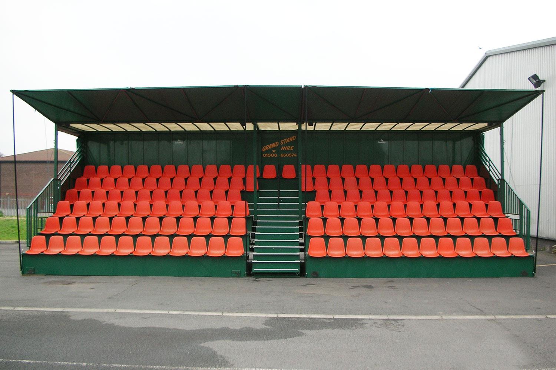 Grandstand Hire - Tarmac setting